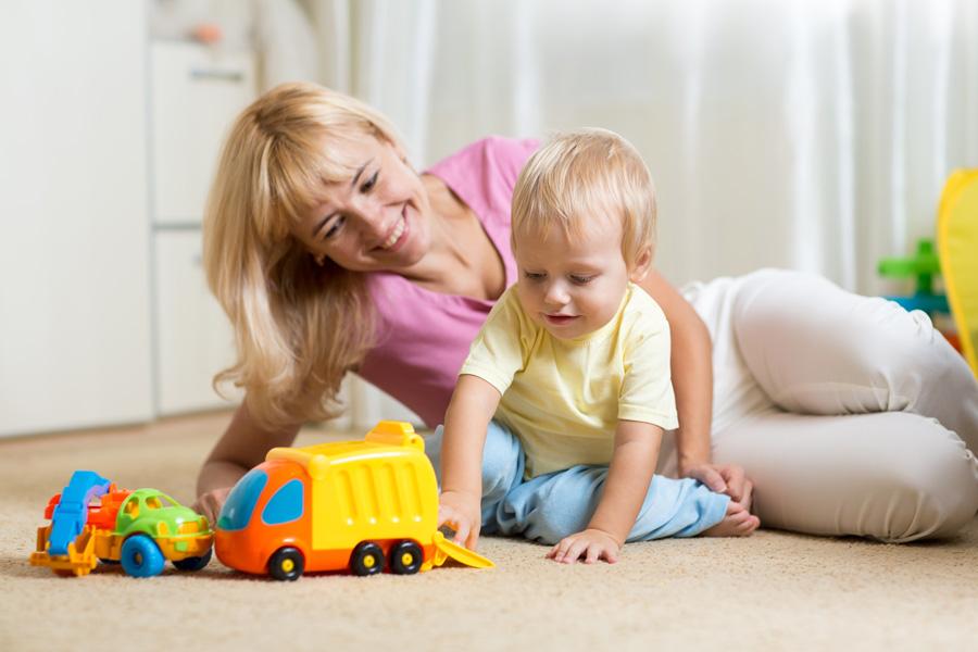 Теплый пол Woks может использоваться в помещениях для детей