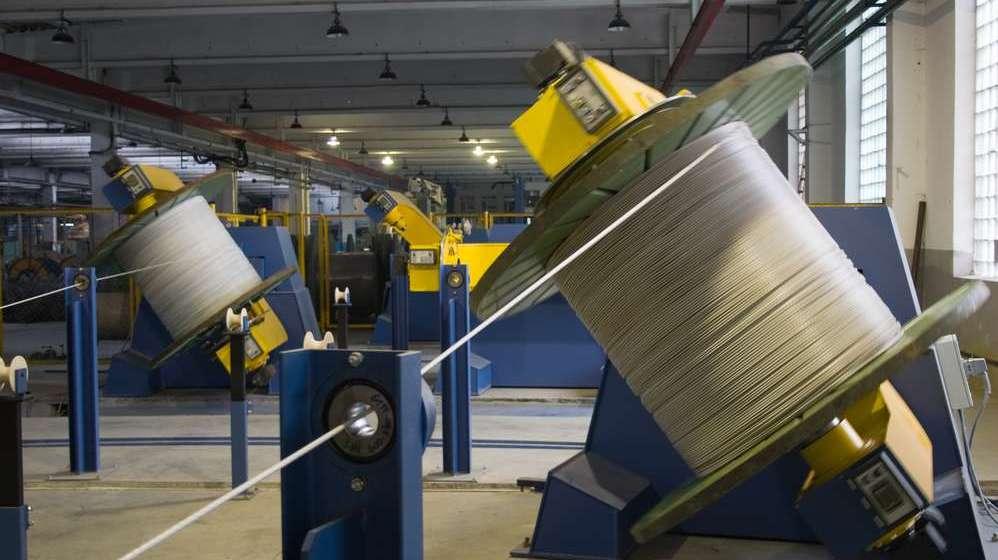 Линия производства силовых кабелей ПАО Одескабель