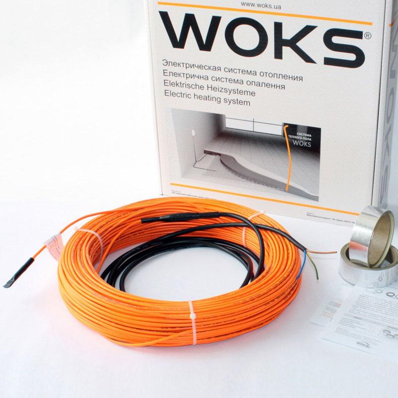 Комплект для обогрева труб Woks 10, 300 Вт, 31 м