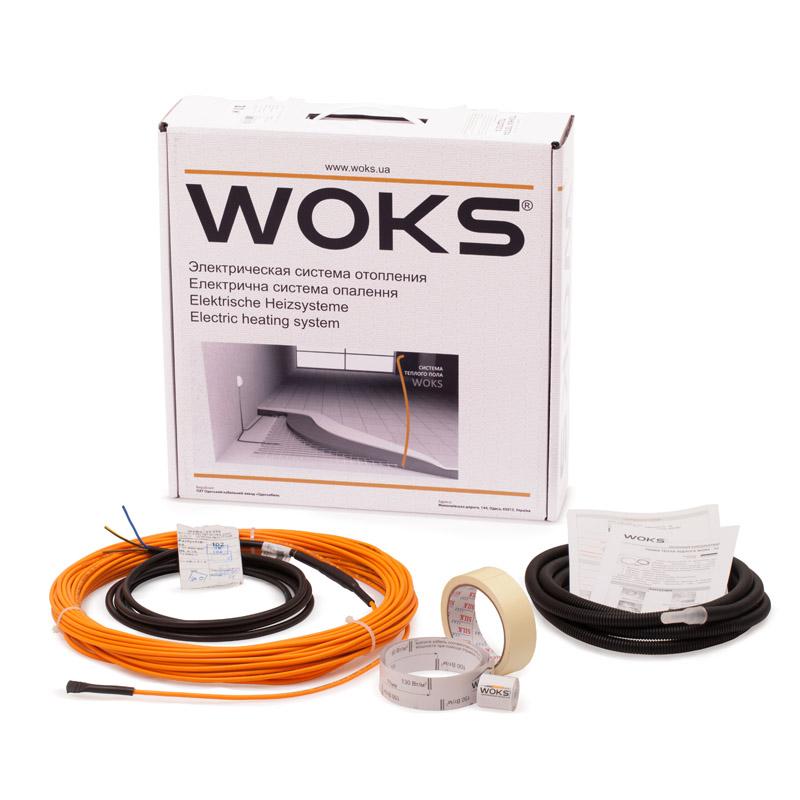 Комплект для тонкого теплого пола Woks 10, 500 Вт, 53 м