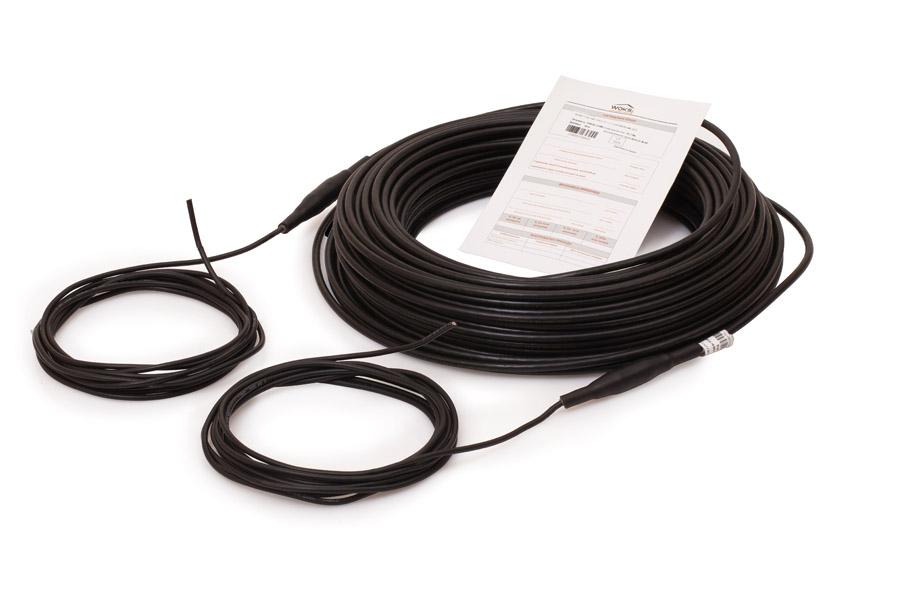 Нагревательный кабель Woks 18, 1650 Вт, 92 м