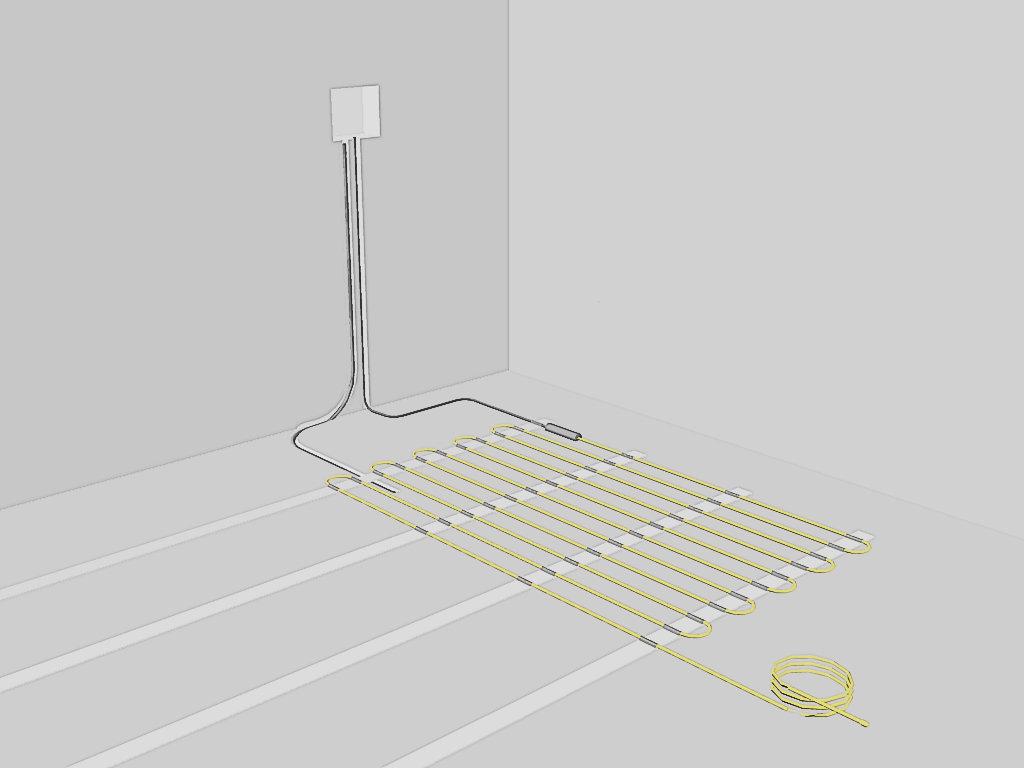 инструкция монтаж теплого пола электрического нексус